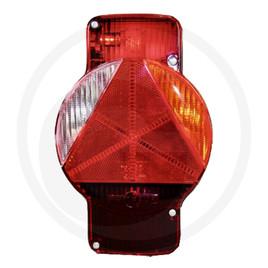 vertikal rechts Lichtscheibe Ersatzglas für Humbaur Rückleuchte Rücklicht
