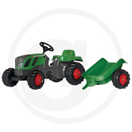 Rolly Toys Pedal tractor with Kid trailer