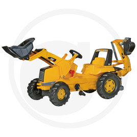 Rolly Toys Pedal tractor with Junior loader and backhoe