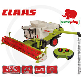 Combine with full driving and steering function, including wireless remote control, with light, plastic, including batteries