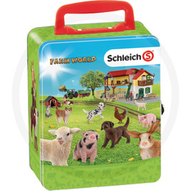 Klein Schleich Farm World Metall-Sammelkoffer