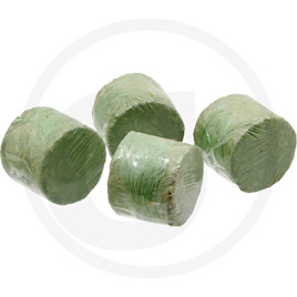 Round silage bales, set of 4